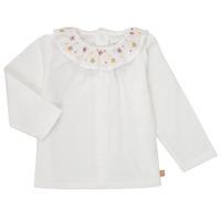 Oblačila Deklice Majice z dolgimi rokavi Carrément Beau Y95244 Bela