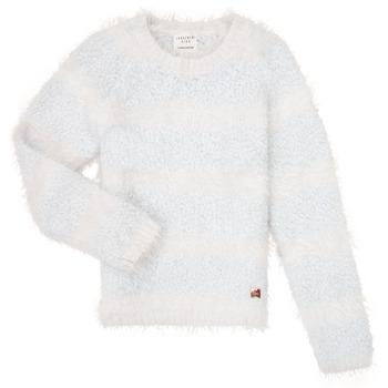 Oblačila Deklice Puloverji Carrément Beau Y15348 Modra