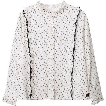 Oblačila Deklice Topi & Bluze Carrément Beau Y15356 Bela