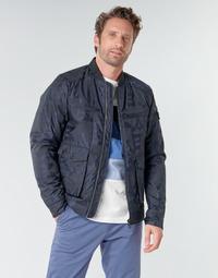 Oblačila Moški Jakne Scotch & Soda JACQUARD BOMBER Modra