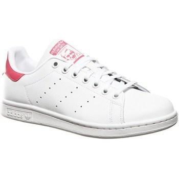 Čevlji  Otroci Nizke superge adidas Originals Stan Smith J Bela