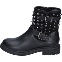 Čevlji  Ženske Gležnjarji Francescomilano BM296 Črna
