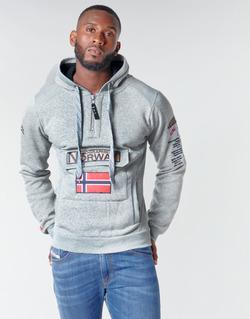 Oblačila Moški Puloverji Geographical Norway GYMCLASS Siva