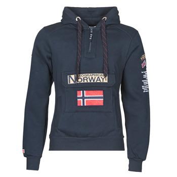 Oblačila Moški Puloverji Geographical Norway GYMCLASS Modra