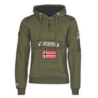 Oblačila Moški Puloverji Geographical Norway GYMCLASS Kaki
