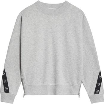 Oblačila Deklice Puloverji Calvin Klein Jeans IG0IG00687-PZ2 Siva