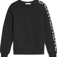 Oblačila Deklice Puloverji Calvin Klein Jeans IG0IG00691-BEH Črna