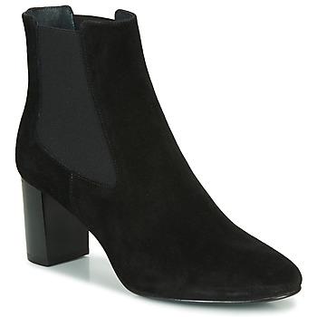 Čevlji  Ženske Gležnjarji Jonak Damocle Črna