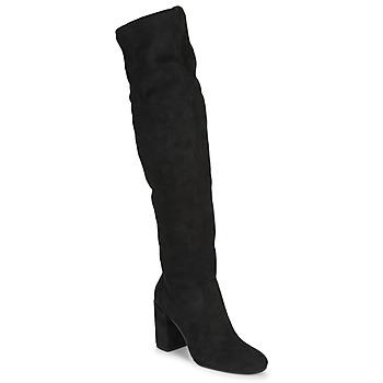Čevlji  Ženske Visoki škornji Jonak MILO Črna