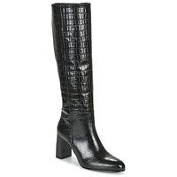 Čevlji  Ženske Mestni škornji    Jonak DEBANUM Črna