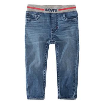 Oblačila Dečki Jeans skinny Levi's PULL-ON SKINNY JEAN River / Run