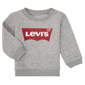 Oblačila Dečki Puloverji Levi's BATWING CREW Siva