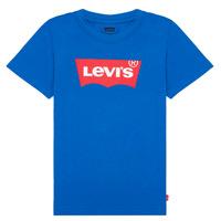 Oblačila Dečki Majice s kratkimi rokavi Levi's BATWING TEE Modra