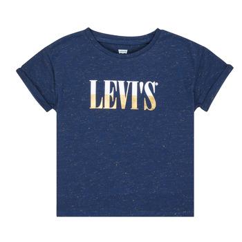 Oblačila Deklice Majice s kratkimi rokavi Levi's DROP SHOULDER TEE Modra