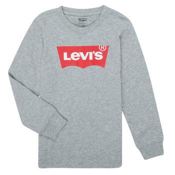 Oblačila Dečki Majice z dolgimi rokavi Levi's BATWING TEE LS Siva