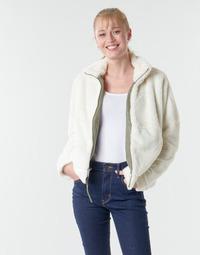 Oblačila Ženske Flis Columbia BUNDLE UP FULL ZIP FLEECE Bela