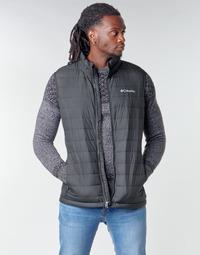 Oblačila Moški Puhovke Columbia POWDER LITE VEST Črna