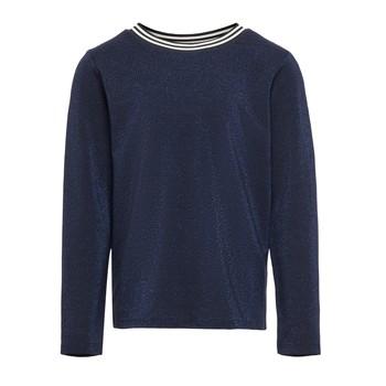 Oblačila Deklice Majice z dolgimi rokavi Only KONATHEA Modra
