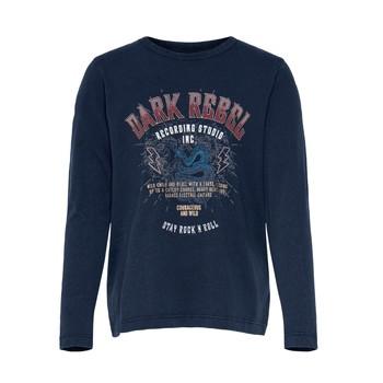 Oblačila Deklice Majice s kratkimi rokavi Only KONLUCY LIFE Modra