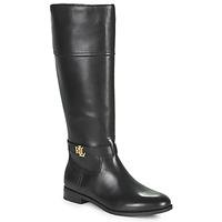 Čevlji  Ženske Mestni škornji    Lauren Ralph Lauren BAYLEE Črna