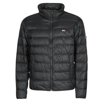 Oblačila Moški Puhovke Tommy Jeans TJM PACKABLE LIGHT DOWN JACKET Črna