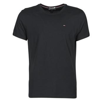 Oblačila Moški Majice s kratkimi rokavi Tommy Jeans TJM ORIGINAL JERSEY TEE Črna