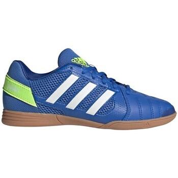 Čevlji  Otroci Nogomet adidas Originals Top Sala Bela, Modra, Rumena