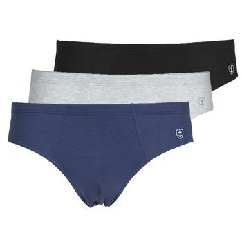 Spodnje perilo Moški Spodnje hlače Mariner PACK COTON BIO Črna / Siva