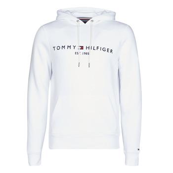 Oblačila Moški Puloverji Tommy Hilfiger TOMMY LOGO HOODY Bela