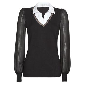 Oblačila Ženske Puloverji Morgan MVANI Črna