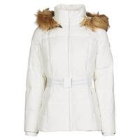 Oblačila Ženske Puhovke Morgan GORAL Off / White
