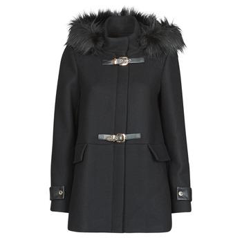 Oblačila Ženske Plašči Morgan GCALIS Črna
