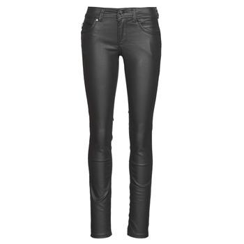 Oblačila Ženske Kavbojke slim Pepe jeans NEW BROOKE Črna