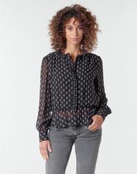 Oblačila Ženske Topi & Bluze Pepe jeans NORA Črna