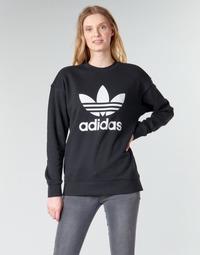 Oblačila Ženske Puloverji adidas Originals TRF CREW SWEAT Črna