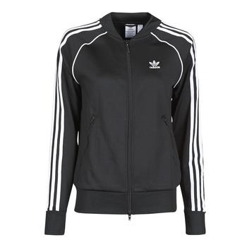 Oblačila Ženske Športne jope in jakne adidas Originals SST TRACKTOP PB Črna