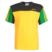 Oblačila Moški Majice s kratkimi rokavi adidas Originals CLASSICS SS TEE Zlata / Actif