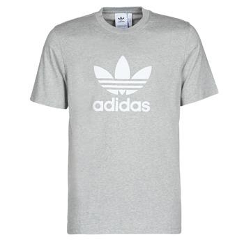Oblačila Moški Majice s kratkimi rokavi adidas Originals TREFOIL T-SHIRT Bruyère / Siva