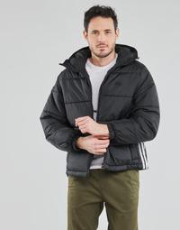 Oblačila Moški Puhovke adidas Originals PAD HOODED PUFF Črna