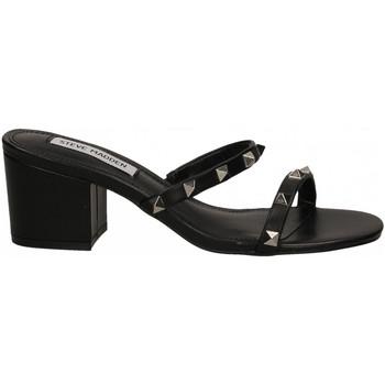 Čevlji  Ženske Sandali & Odprti čevlji Steve Madden ISME LEATHER black