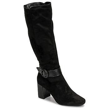 Čevlji  Ženske Mestni škornji    Moony Mood NISTI Črna