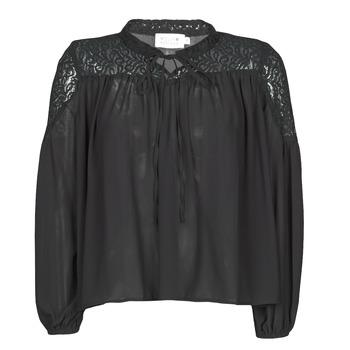 Oblačila Ženske Topi & Bluze Molly Bracken R1521H20 Črna