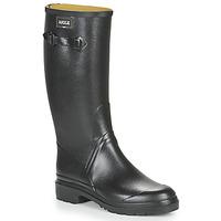 Čevlji  Moški škornji za dež  Aigle CESSAC Črna