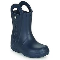 Čevlji  Otroci škornji za dež  Crocs HANDLE IT RAIN BOOT Modra