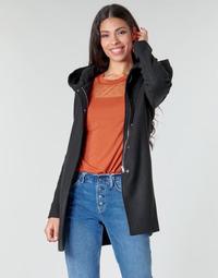 Oblačila Ženske Plašči Moony Mood NANTE Črna