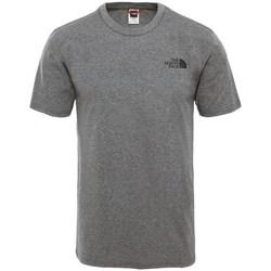 Oblačila Moški Majice s kratkimi rokavi The North Face Simple Dome Siva
