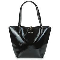Torbice Ženske Nakupovalne torbe Guess ALBY TOGGLE TOTE Črna