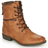 Čevlji  Ženske Polškornji Mustang 1157508 Kamel