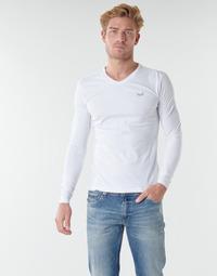 Oblačila Moški Majice z dolgimi rokavi Kaporal VIFT Črno-bela