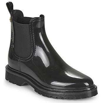 Čevlji  Ženske škornji za dež  Lemon Jelly BLOCK Črna